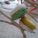 Nouveaux Macarons Pomme verte et Mirabelle
